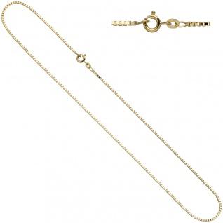 Venezianerkette 585 Gelbgold 1, 0 mm 42 cm Gold Kette Halskette Goldkette - Vorschau 2