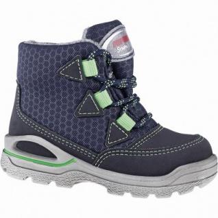 Pepino Emil coole Jungen Synthetik Winter Tex Boots see, waschbar, Lammwollfutter, warmes Fußbett, breitere Passform, 3241139/22