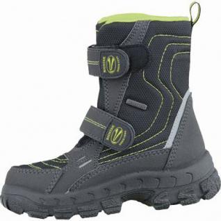 Richter Jungen Winter Tex Boots schwarz, mittlere Weite, molliges Warmfutter, warmes Fußbett, 3737183/28