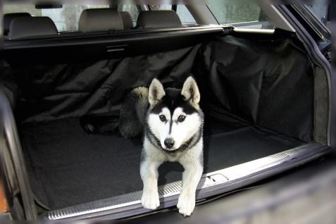 praktische Polyester Kofferraum Auto Schon Decke, Hundematte schwarz 102x70 c...