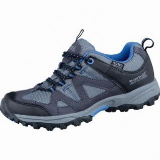 Regatta Gatlin Low JNR Mädchen Mesh Isotex Trekking Schuhe grau, rutschfeste TPR-Laufsohle, 4437103/31