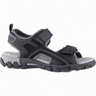 san francisco 27cc7 38f80 Superfit sportliche Jungen Synthetik Sandalen schwarz, mittlere Weite,  anatomisches Fußbett, 3542117/31