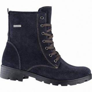 Ricosta Disera Mädchen Winter Leder Tex Boots see, 13 cm Schaft, mittlere Weite, Warmfutter, warmes Fußbett, 3741258/34