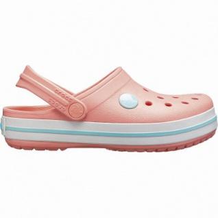 Crocs Crocband Clog Kids coole Mädchen Clogs melon, verstellbarer Fersenriemen, 4342119/24-25