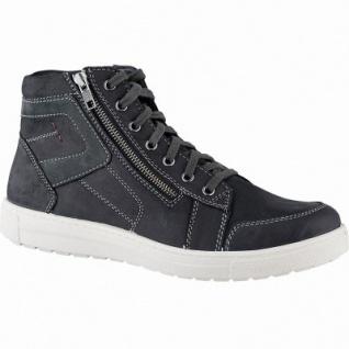 Jomos Herren Leder Winter Boots schwarz, 10 cm Schaft, Warmfutter, warmes Fußbett, 2541164/40