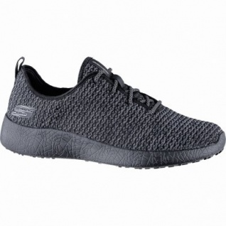 Skechers coole Herren Strick Sneakers black, Skechers Air Cooled Memory Foam-Fußbett, 4240158