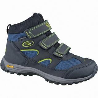 Brütting Snowfun V Winter Nylon Tex Boots schwarz, Warmfutter, Vibram-Laufsohle, 3737129/36