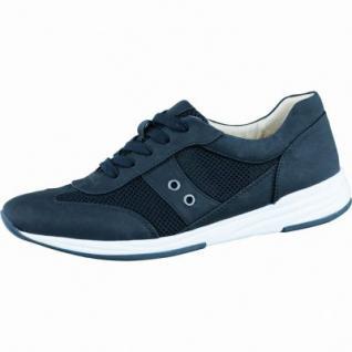 Jenny Granville stylische Damen Sneaker schwarz, Synthetik, Jenny Fußbett, Extra Weite H, 1336137/37
