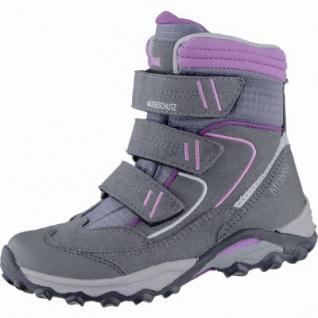 Meindl Snowplay Jr. Pro Mädchen Velour Mesh Winter Boots grau, Webpelz, Nässeschutz Futter, 4539102/26