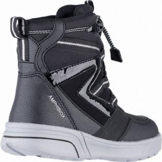 Geox Mädchen Winter Synthetik Amphibiox Boots black, 11 cm Schaft, molliges Warmfutter, herausnehmbare Einlegesohle, 3741111/32 - Vorschau 2