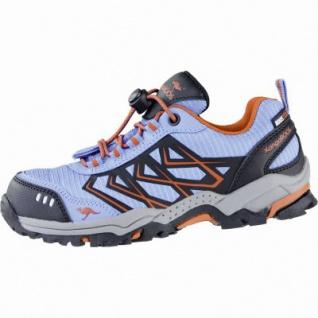 Kangaroos Molas Mädchen Synthetik Tex Trekking Schuhe blue, Meshfutter, herausnehmbares Fußbett, 4439123/35