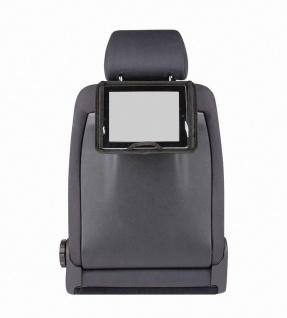 Universal PKW Tablet PC Halter für Kopfstützen schwarz 29, 5x22 cm, Neigungsve...