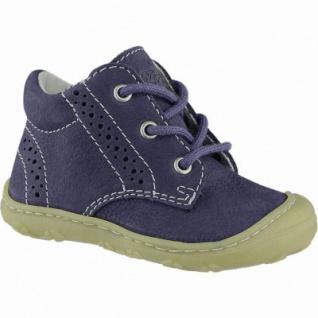 Pepino Kelly coole Jungen Leder Lauflern Sneakers see, mittlere Weite, Pepino Leder Fußbett, 3040123/18