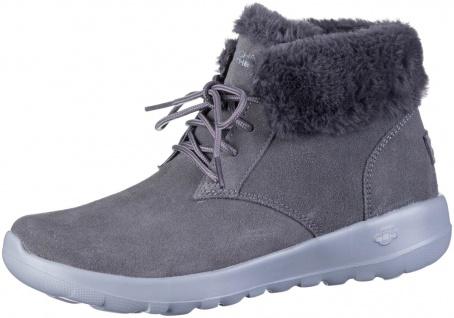 SKECHERS On The GO Joy Lush Damen Leder Boots char, Skechers Air Cooled Goga ...