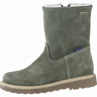 Richter Mädchen Winter Leder Tex Boots birch, mittlere Weite, Warmfutter, warmes Fußbett, 3741226/31