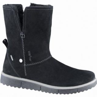 Legero modische Damen Komfort Leder Stiefel schwarz mit Goretex, Warmfutter, warmes Fußbett, Weite G, 1739102/4.0
