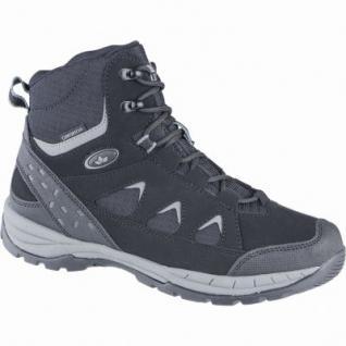 Lico Kodiak Herren Nylon Winter Trekking Boots schwarz, Warmfutter, warme Einlegesohle, 4539117