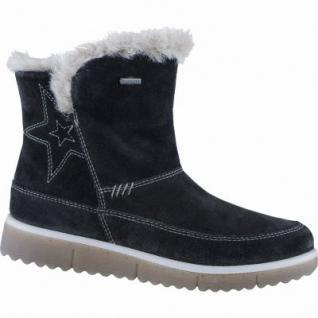 Superfit Mädchen Winter Leder Tex Boots schwarz, Warmfutter, warmes Fußbett, 3739151/35