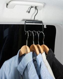 2 Stück praktische Metall KFZ Auto Kleiderbügel Halter, ideal für Transport von Kleidung - Vorschau 2