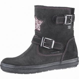 Richter Mädchen Leder Winter Tex Boots steel, Warmfutter, warmes Fußbett, mittlere Weite, 3739198