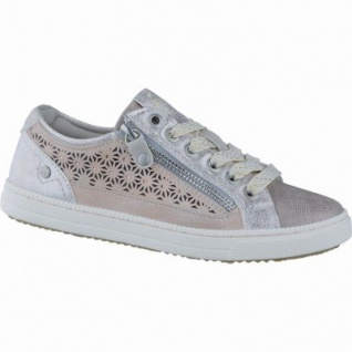 Mustang coole Mädchen Synthetik Glitzer Sneakers Low rose, Mustang-Laufsohle, 3338126/37