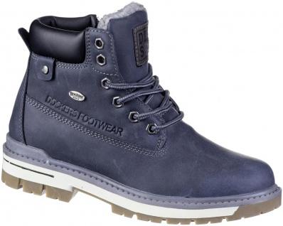 DOCKERS Jungen Winter Synthetik Tex Boots navy, molliges Warmfutter, warme De...