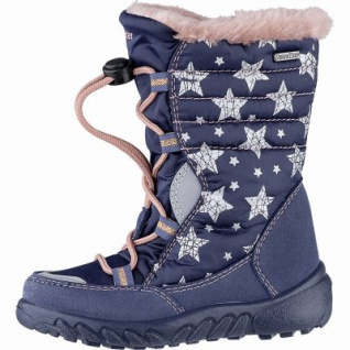 Richter Mädchen Tex Boots atlantic, mittlere Weite, Warmfutter, anatomisches Fußbett, 3741231/30