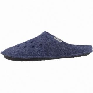 Crocs Classic Slipper Damen, Herren Winter Textil Hausschuhe navy, warmes Futter, 1939111/42-43