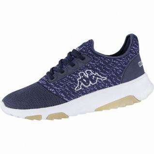 Kappa Share modische Damen, Herren Textil Synthetik Sneakers navy, herausnehm...