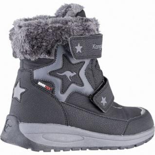 Kangaroos Star Shine RTX Mädchen Winter Synthetik Tex Boots black, leichtes Futter, herausnehmbare Decksohle, 3741251/28 - Vorschau 2
