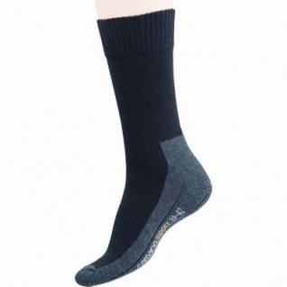 Camano 2er Pack Damen, Herren Sport Socken schwarz, Bund ohne Gummidruck, 6535104/39-42