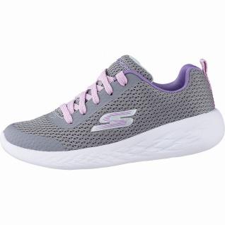 Skechers GO Run 600 sportliche Mädchen Mesh Sneakers grey, weiches Skechers F...