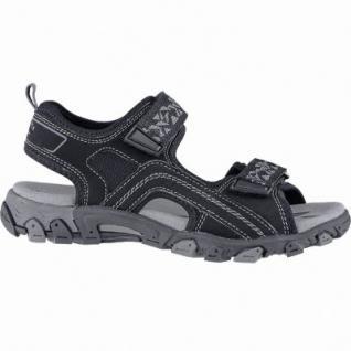 Superfit praktische Jungen Synthetik Sandalen schwarz, mittlere Weite, weiches Fußbett, 3540139