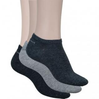 s.Oliver Classic NOS Unisex Sneaker grau, 3er Pack Damen, Herren Sneaker Socken, 6533113/43-46