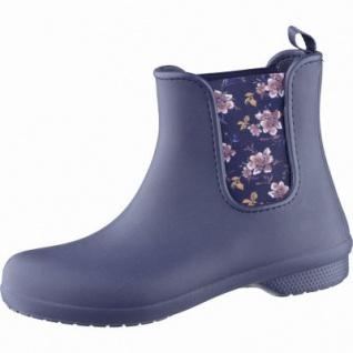 Crocs Crocs Freesail Chelsea Boot W Damen Gummistiefel navy floral, 5039111