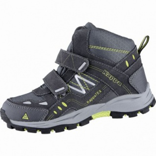 Kapppa Bliss Mid II Tex K coole Jungen Synthetik Tex Boots anthra, Profil Laufsohle, 3739101/30