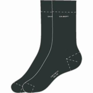 Camano Ca-Soft Socks unisex NOS anthrazit, 2er Pack Damen, Herren Socken