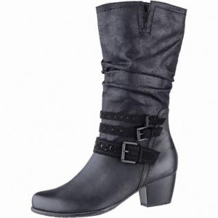 Jana Damen Leder Imitat Stiefel schwarz, 27 cm Schaft, Schaft, cm Extra Weite H ... 9691a1