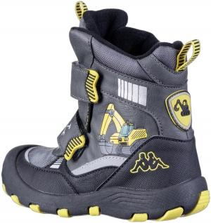 KAPPA Road Tex Jungen Winter Synthetik Boots grey, Fleecefutter, wasserdicht,... - Vorschau 2