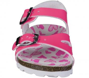 S.OLIVER Mädchen Lack Sandalen neon pink, biegsame Laufsohle - Vorschau 4