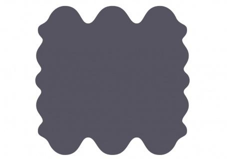 exklusive Lammfell Fellteppiche indigo gefärbt, 6 Einzelfelle, waschbar, Haar...