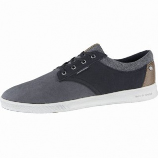 Jack&Jones JFW Gaston coole Herren Synthetik Sneakers anthrazite, Textilfutter, Sneaker Laufsohle, 2140114
