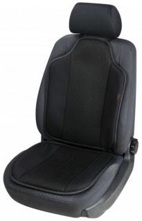 High Tec Universal Auto Sitzauflage Spacer schwarz, 3D Spacer Füllung, 30 Grad waschbar, alle PKW