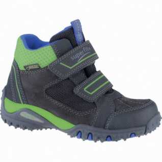 Superfit Jungen Synthetik Gore Tex Boots charcoal, Superfit Fußbett, 3739148/38