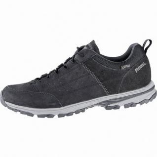 Meindl Durban GTX Herren Leder Outdoor Schuhe schwarz, Air-Active-Fußbett, 4440110/11.5