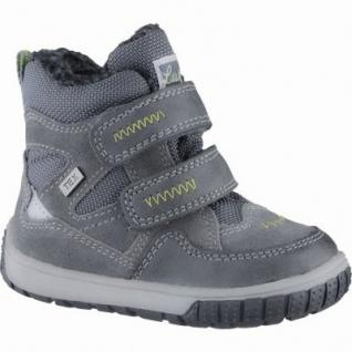 Lurchi Jaufen Jungen Winter Leder Tex Boots grey, Warmfutter, warmes Fußbett, 3239104