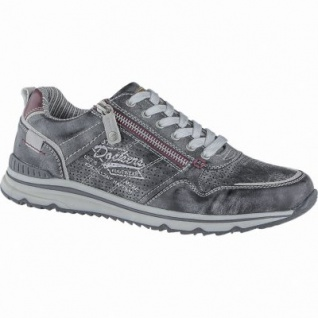 Dockers coole Herren Synthetik Sneakers schwarz, Dockers Laufsohle, herausnehmbare Einlegesohle, 2140168