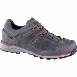 Mammut Alnasca Low GTX Men Herren Mesh Outdoor Schuhe graphite, Gore Tex Ausstattung, 4440169
