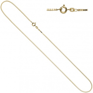 Venezianerkette 585 Gelbgold 1, 0 mm 40 cm Gold Kette Halskette Goldkette - Vorschau 2