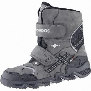 Kangaroos Spruce coole Jungen Synthetik Winter Tex Boots grey, Warmfutter, warmes Fußbett, 3739140/32